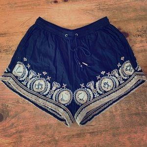 Abercrombie Drawstring Shorts